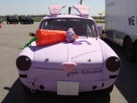 Bunnywagen greets you.